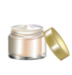 Cosmetic cream vector
