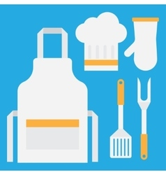 Grill tools set vector image vector image