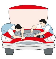 Auto maintenance k vector