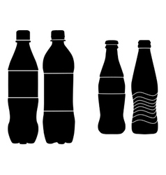 Bottle sign vector