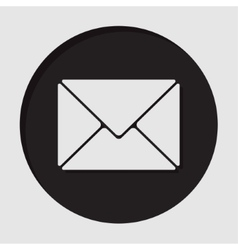 Information icon - mailing envelope vector