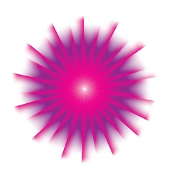 Explosion background with pink colors vector