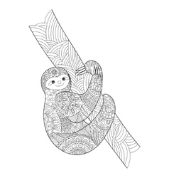 sloth mask template - sloth adult coloring coloring pages