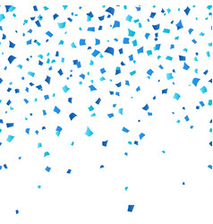 Blue oktoberfest confetti on white background vector
