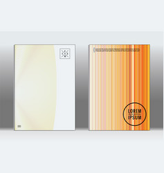 Minimal placard geometric cover vector