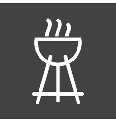 Outdoor Cooking vector image