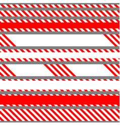 Set of seamless tapes used for restriction vector
