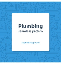 Plumbing services concept backdrop vector