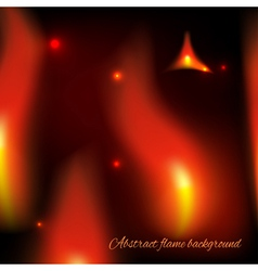 Abstract fiery background vector
