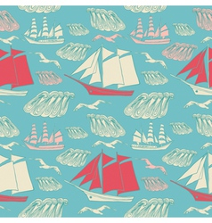Voyage seamless background vector