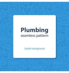 Plumbing services concept backdrop vector