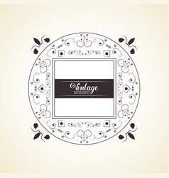 vintage and exclusive rubber stamp on white vector image