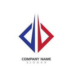 Business finance professional logo vector