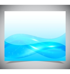 Abstract light blue background vector image