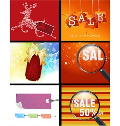 Sale Designs vector image
