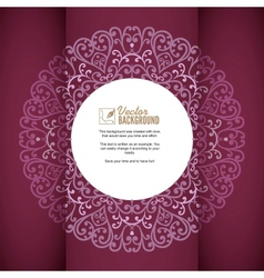 Vintage background greeting card invitation with vector