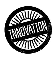 innovation rubber stamp vector image