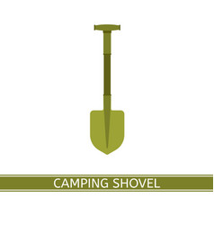shovel icon vector image vector image