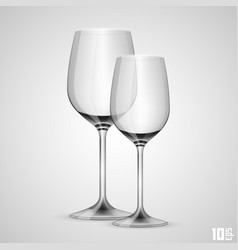 Wineglass object vector