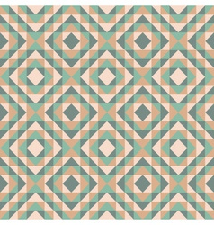 Seamless pattern with diamond design vector