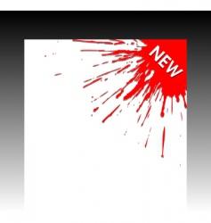 corner vector image