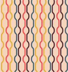 Seamless vintage colors pattern vector