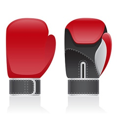 Boxing gloves 03 vector