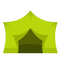 Camping equipment icon isolated vector