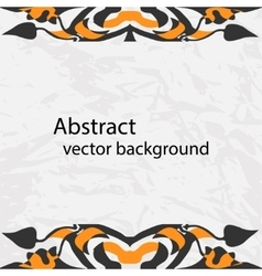 decorative ribbon Abstract vector image