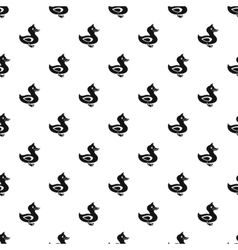 Duck pattern simple style vector