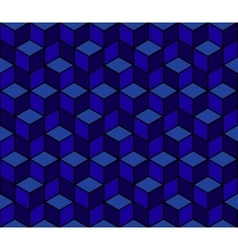 Multicolored pattern of hexagons eps 10 vector image