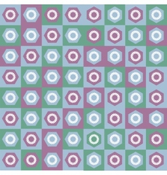 Pattern seamless gear vector image vector image