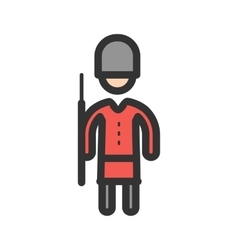 Queens guard vector