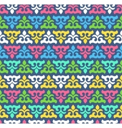 Seamless pattern with cute ornament for wallpaper vector
