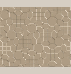 3d brown brick pathway pattern vector