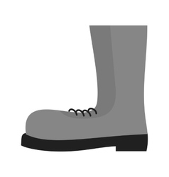 Construction boots vector