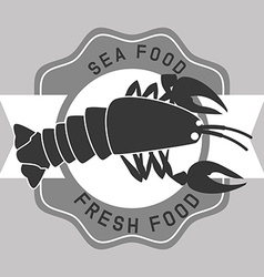Sea food vector