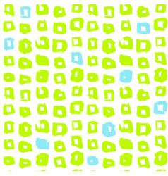 funky square seamless pattern vector image vector image