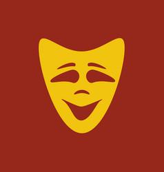 Happy mask vector