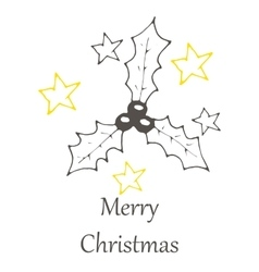 Christmas and new year hand drawn seamles vector