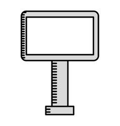 board cinema isolated icon design vector image
