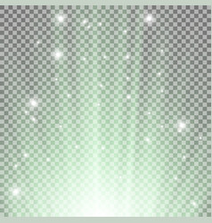 light flare from below vector image
