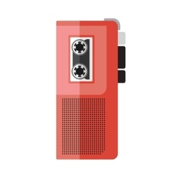 Dictaphone icon vector