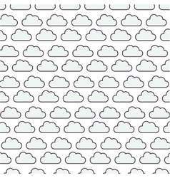 Clouds pattern background isolated icon vector
