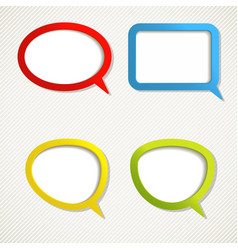 Color frames vector image vector image