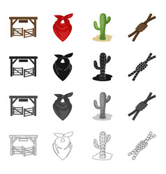 pasture farm accessories and other web icon in vector image vector image