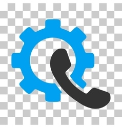 Phone configuration icon vector