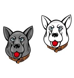 Dog mascots vector