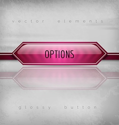 Options button vector