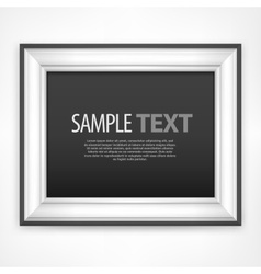 Frame  text vector